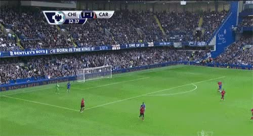 Watch and share Samuel Eto'o Tapped Ball Off Ruddy Bounce Chelsea Scores Vs Norwich-b GIFs on Gfycat