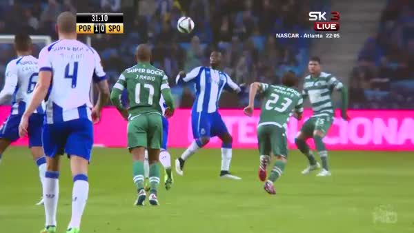 Watch An incredible assist from Jackson Martinez leads to Tello putting Porto one up against Sporting (reddit) GIF on Gfycat. Discover more fifa, madtekkers GIFs on Gfycat
