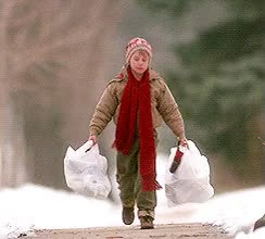 Watch and share Home Alone Carrying Grocery Bags GIFs on Gfycat