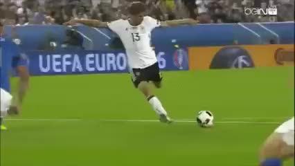 Watch and share Florenzi Save GIFs and Italy Germany GIFs by tobee8 on Gfycat