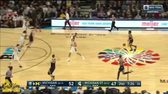 Watch and share Michigan State GIFs and Zavier Simpson GIFs by MGoBlog on Gfycat