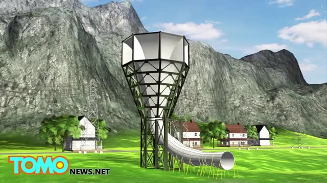 Watch Funnel wind turbine: radical new design harnesses 600% more electricity from wind - TomoNews GIF on Gfycat. Discover more All Tags, education, educational, invelox, news, politics, sheerwind, tomonews GIFs on Gfycat