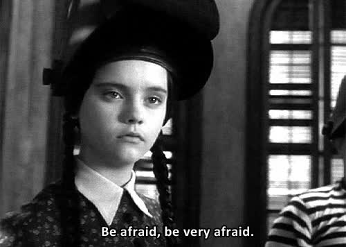 Watch and share Christina Ricci GIFs and Afraid GIFs by Streamlabs on Gfycat