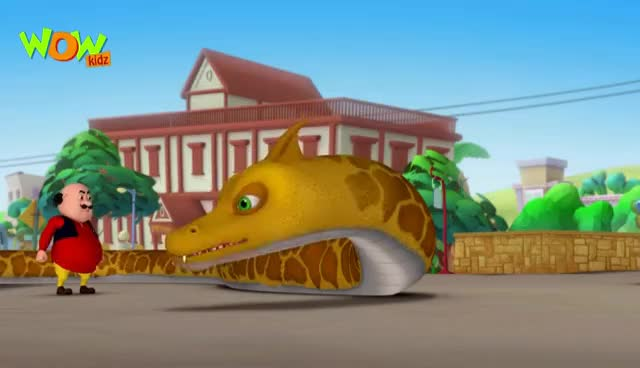 Watch and share Bahadur No 1 - Motu Patlu In Hindi - 3D Animation Cartoon For Kids -As On Nickelodeon GIFs on Gfycat