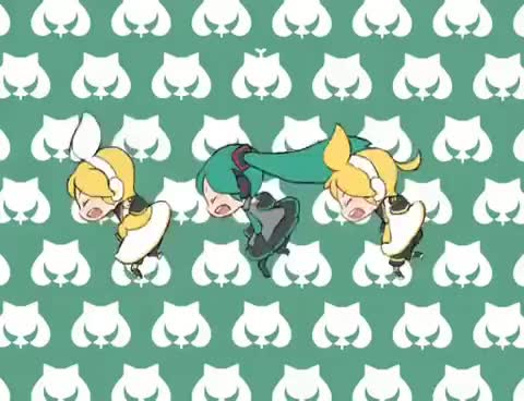 Watch vocaloid smoooch GIF on Gfycat. Discover more vocaloid miku rin len GIFs on Gfycat