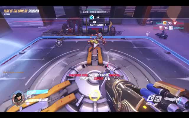 Watch and share Overwatch GIFs and Pharah GIFs by shidarin on Gfycat