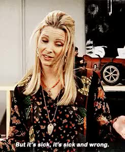 Watch and share Phoebe Buffay GIFs and Lisa Kudrow GIFs on Gfycat