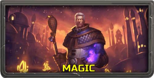 Hearthstone, Khadgar, MAGIC THO, Mage, Magic, Reaction, Reaction GIF, WoW, Magic - Khadgar Reaction GIF GIFs