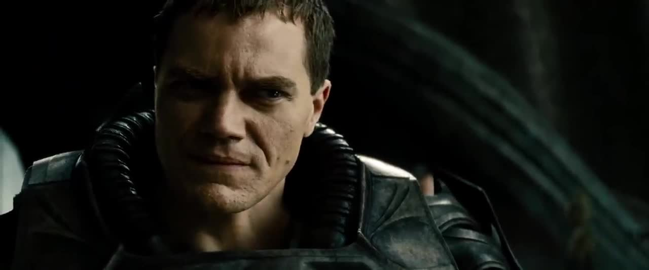 celebs, general zod, jor el, man of steel, michael shannon, russell crowe, General Zod and Jor-El Discuss Change GIFs