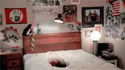 Watch HE CAME HOME! GIF on Gfycat. Discover more a nightmare on elm street, horroredit, johnny depp, wes craven, zombieslicious GIFs on Gfycat