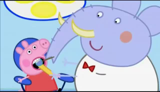 Watch and share Peppa Pig Dentist Episodes English Compiation Peppa Pig Cartoon GIFs on Gfycat