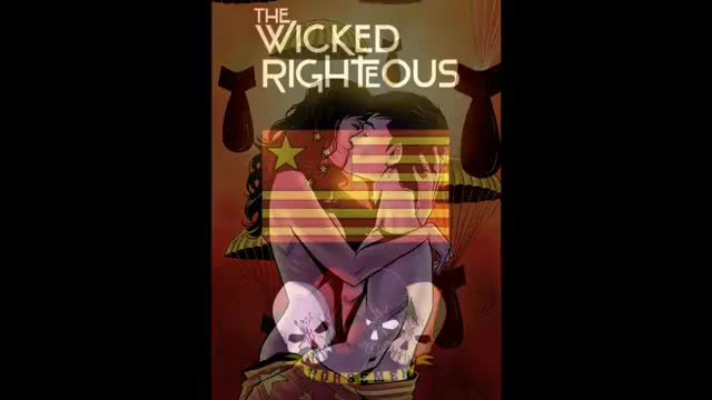 Watch The Wicked Righteous Graphic Novel - GIF on Gfycat. Discover more Comics, Dystopian, KickStarter, Writer, alterna, art, book, comic, crowdfunding, novel, postapocalyptic, preview GIFs on Gfycat