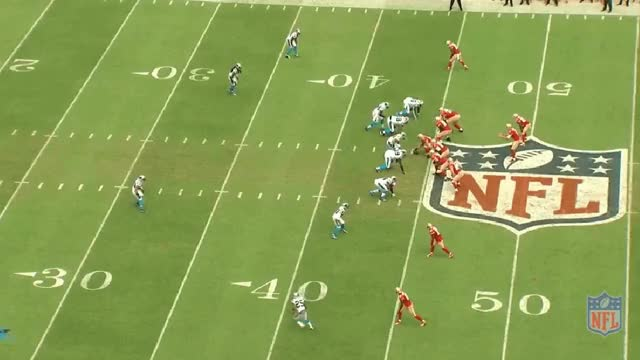 Watch and share Gabbert Forces It To Burbridge Short Of Sticks Vs Panthers GIFs by mrg80 on Gfycat