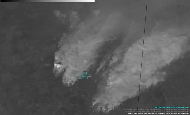 Watch and share Suomi NPP VIIRS Visible (0.64 Μm), Shortwave Infrared (3.74 Μm), And Infrared Window (11.45 Μm) Images [click To Enlarge] GIFs on Gfycat