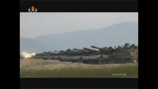 Watch and share North Korea Massive Artillery Drill 2017 Best Moment Full Video GIFs on Gfycat