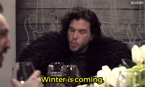 Watch and share Winter Is Coming GIFs and Kit Harington GIFs on Gfycat