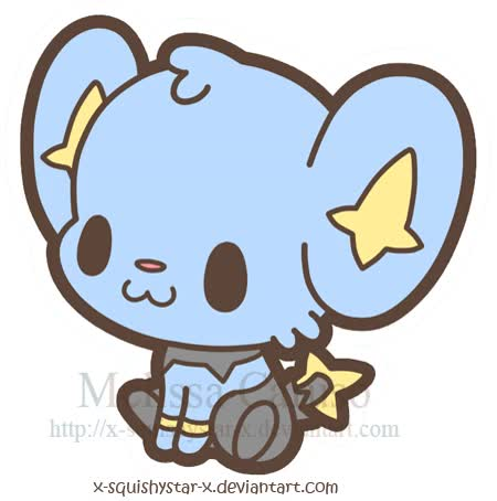 Watch and share Squishy Shinx By X-SquishyStar-x On DeviantART animated stickers on Gfycat