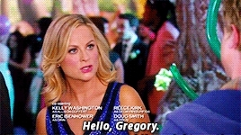 greg pikits, i love gif where the left gif and the right one looks like they're talking to each other, leslie knope, like the last 2, pannedpandawork, parks and rec, parks and rec s06e18, parks and recreation, parksedit, Panned Panda GIFs