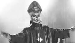 Watch and share Gif Mine Ghost Year Zero Ghost Band Papa Emeritus II Ghost B.C. GIFs on Gfycat