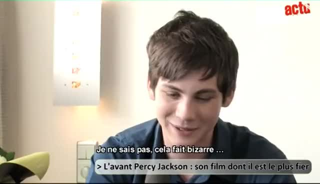Watch Logan Lerman GIF on Gfycat. Discover more Interview, Lerman, Logan, Wade GIFs on Gfycat