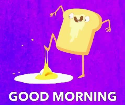 good, good morning, toast, GOOD MORNING GIFs