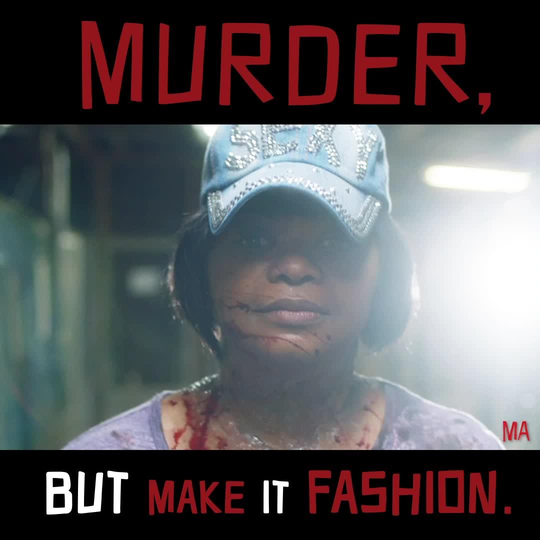 fashion, funny, ma, ma movie, meme, octavia spencer, MA Murder Fashion Meme GIFs