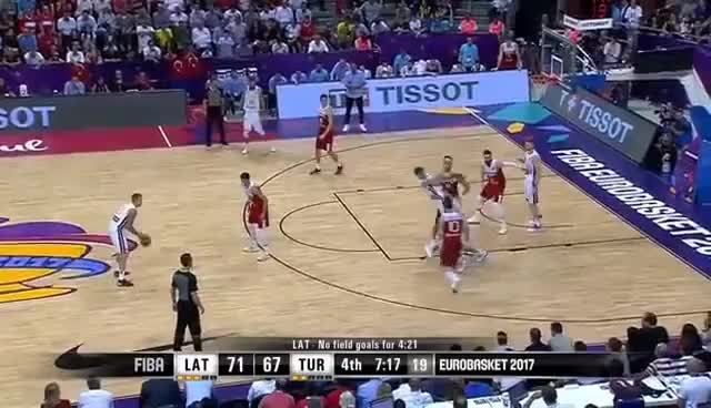 Watch Latvia v Turkey - FIBA EuroBasket 2017 GIF on Gfycat. Discover more related GIFs on Gfycat