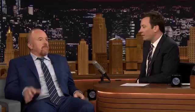 Watch this trending GIF on Gfycat. Discover more Jimmy Fallon, Louis C.K GIFs on Gfycat