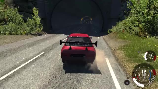 Watch and share Wallride BEAMNG Sony Codec GIFs on Gfycat