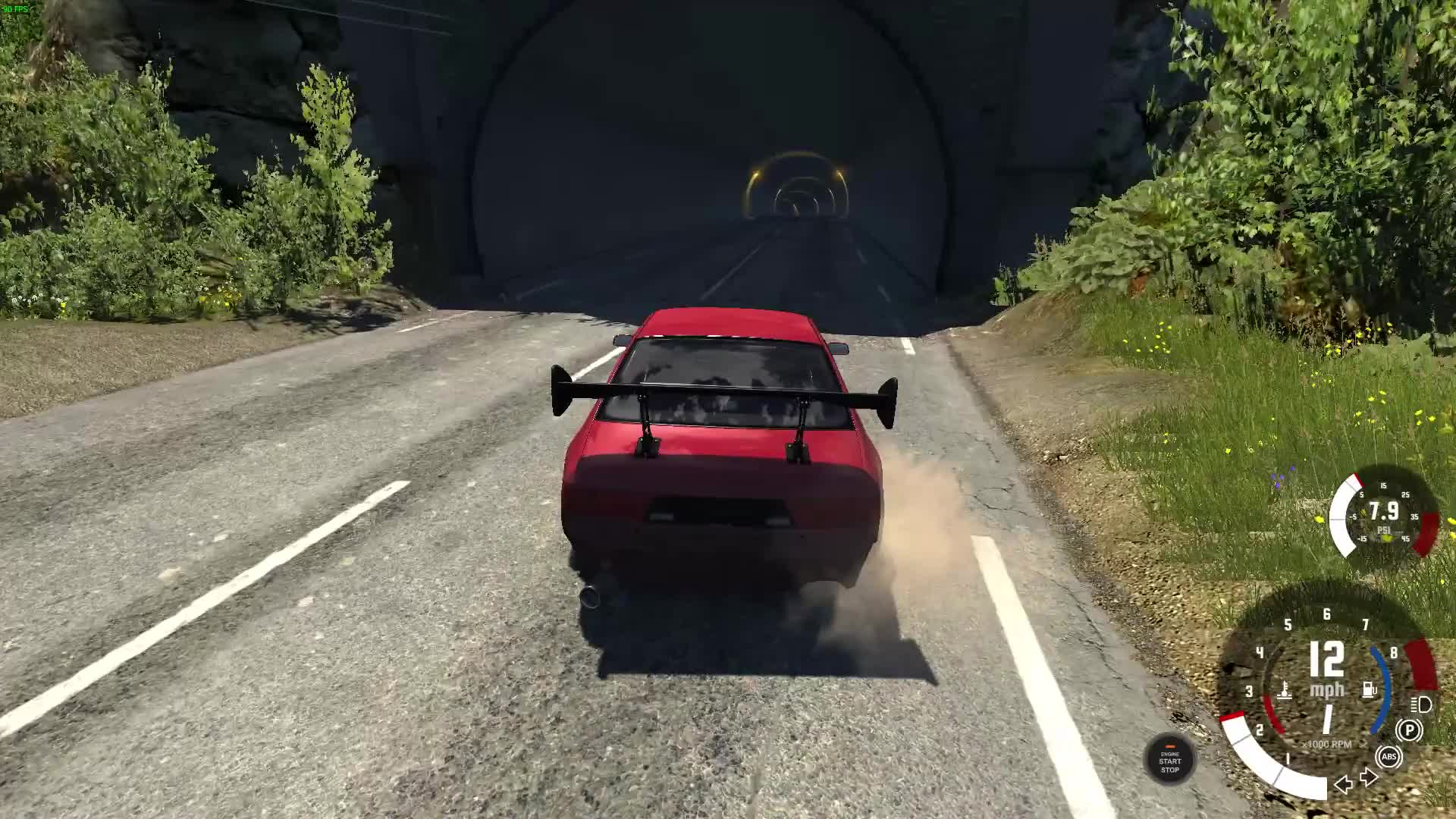 Wallride BEAMNG Sony Codec GIFs