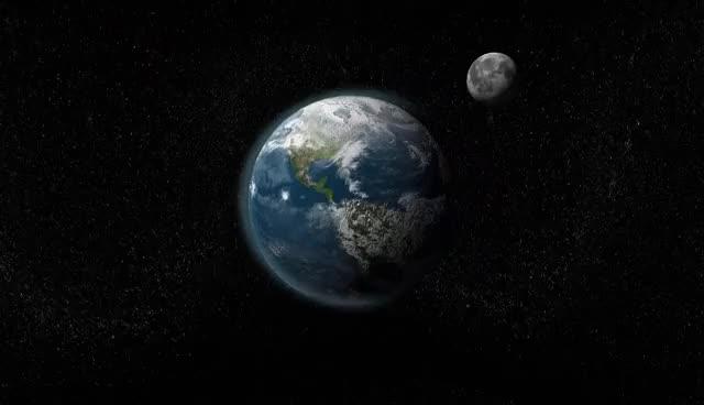 earth going boom
