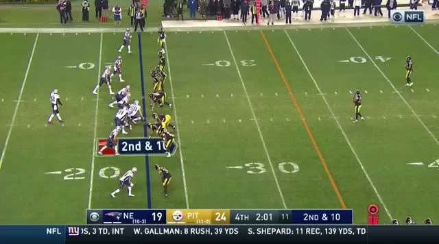 Watch and share 24 Brady To Gronk To Midfield.mov GIFs on Gfycat
