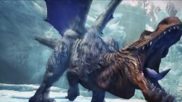 Watch Monster Hunter World: Iceborne - Fulgur Anjanath GIF by @austinwoodmedia on Gfycat. Discover more action, brachydios, capcom, ebony odogaron, fulgur anjanath, gathering hub, generations, glavenus, hunting, iceborne, mh, monster hunter, multiplayer, nargacuga, rpg, tigrex, trailer, turf war, velkhana, world GIFs on Gfycat