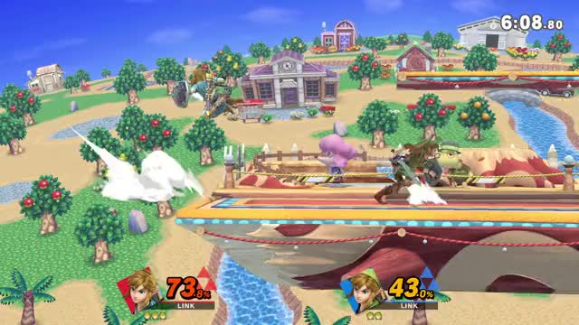 Watch and share Edgeguarding Link 4 GIFs by Arrow on Gfycat