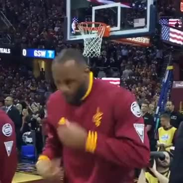 bing, google, josiah873, lebron james, youtube, NBA finals lebron James shouting: let's go! GIFs