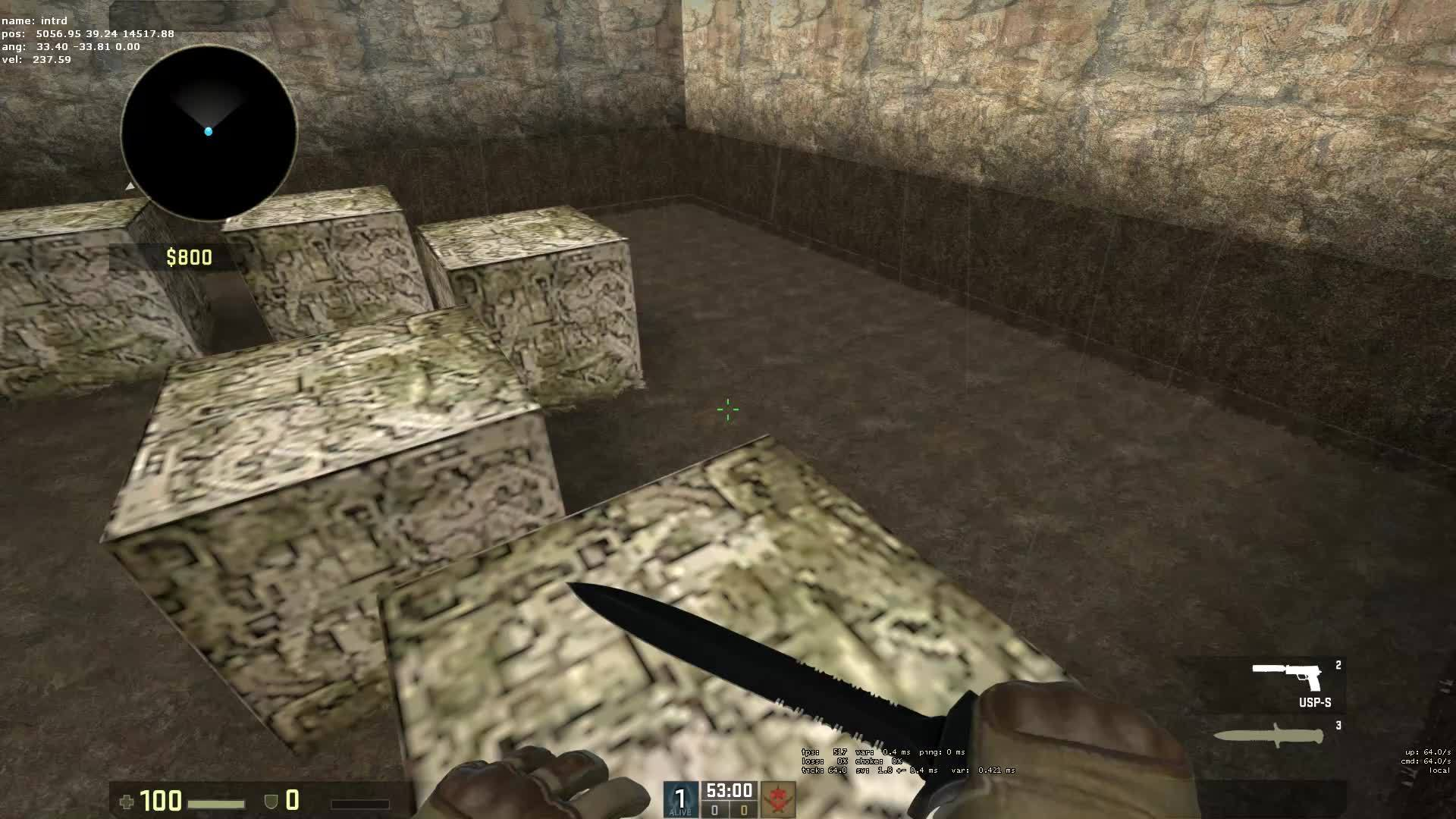 counterstrike, intrd CS:GO - bhop training tick64 GIFs