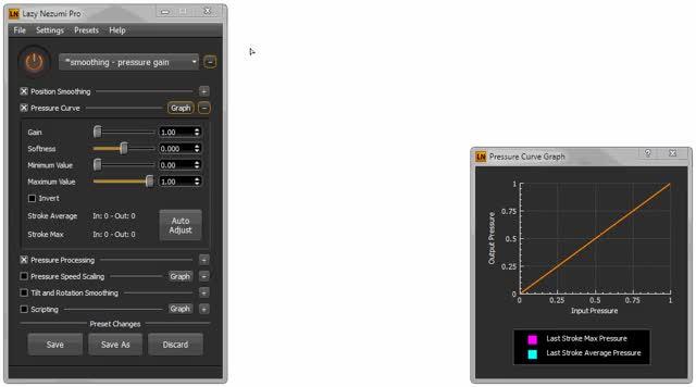 Watch and share LNP Pressure Curve Auto Adjust GIFs by Lazy Nezumi Pro on Gfycat