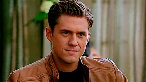 Watch and share Aaron Tveit GIFs and Aaron+words GIFs on Gfycat