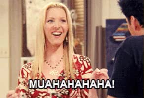 Watch and share Lisa Kudrow GIFs and Evil Laugh GIFs on Gfycat