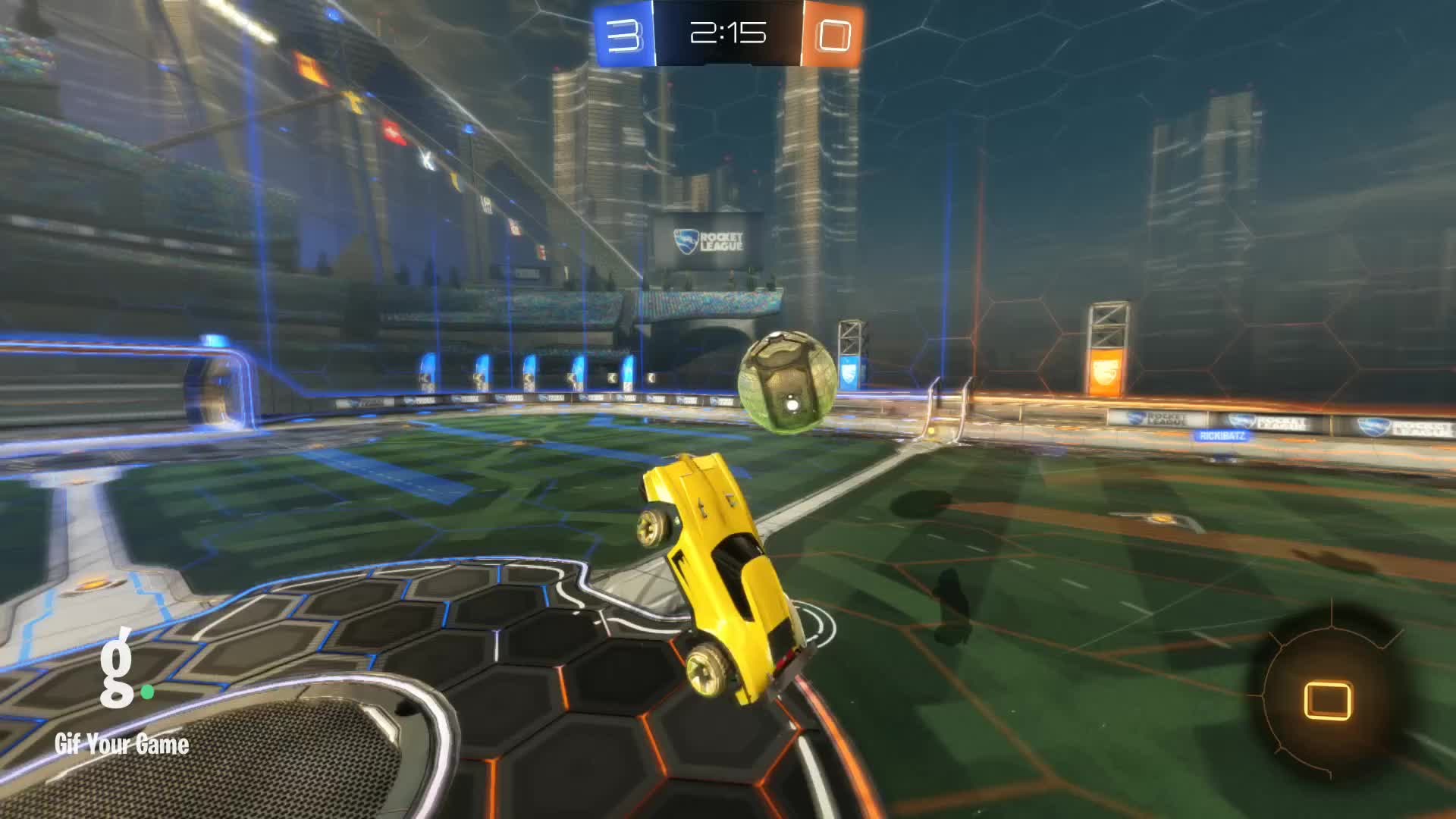 Gif Your Game, GifYourGame, Goal, Rocket League, RocketLeague, Wabbadabba, Goal 4: Wabbadabba GIFs