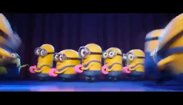 Watch and share Despicable Me 3 Trailer 2017 - All Trailer Tv Spot & Dance Song - Funny Animation Movie Clips GIFs on Gfycat