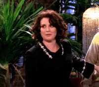 cool story bro, flirt, good job, karen, megan mullally, nice, will and grace, wink, Karen Wink GIFs