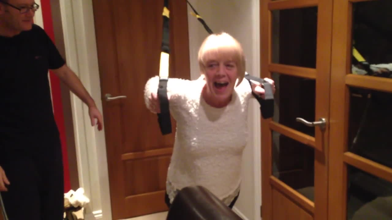 whatcouldgowrong, Mom Tries Out Exercise Equipment GIFs