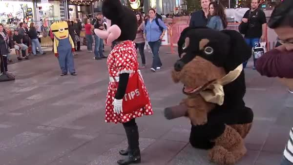 Watch and share Who Knew Minnie Liked It Ruff GIFs on Gfycat