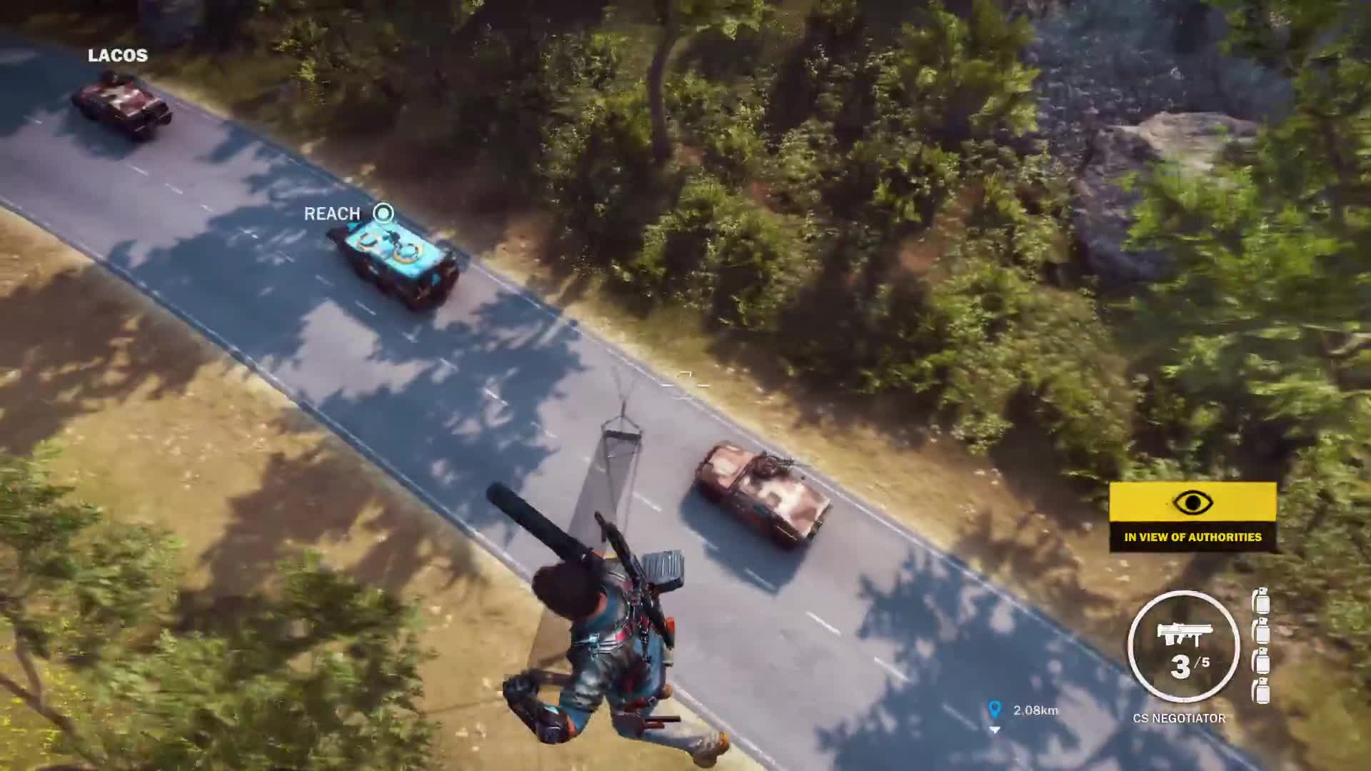 convoy, just cause 3, rico rodriguez, Just Cause 3 Convoy Intercept GIFs