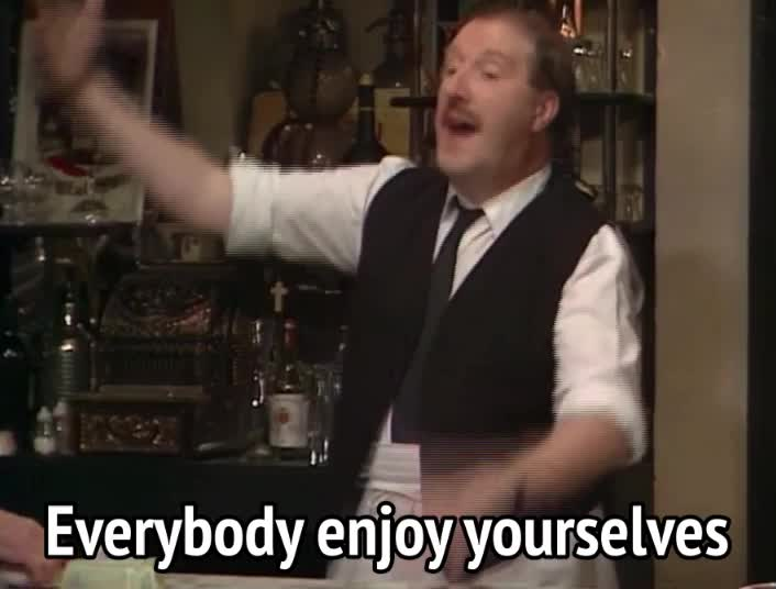 allo allo, allo allo - everybody enjoy yourselves GIFs