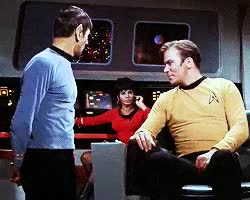 Watch and share Star Trek Tos GIFs and Captain Kirk GIFs on Gfycat