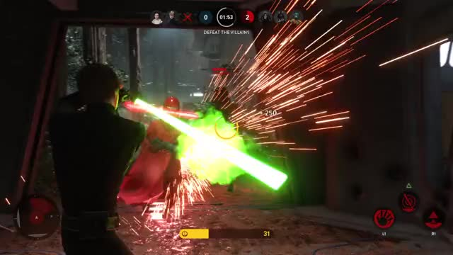 Watch Stop being so dramatic, Palpatine. GIF by @cracklyrabbit on Gfycat. Discover more Battlefront, Palpatine, StarWars GIFs on Gfycat