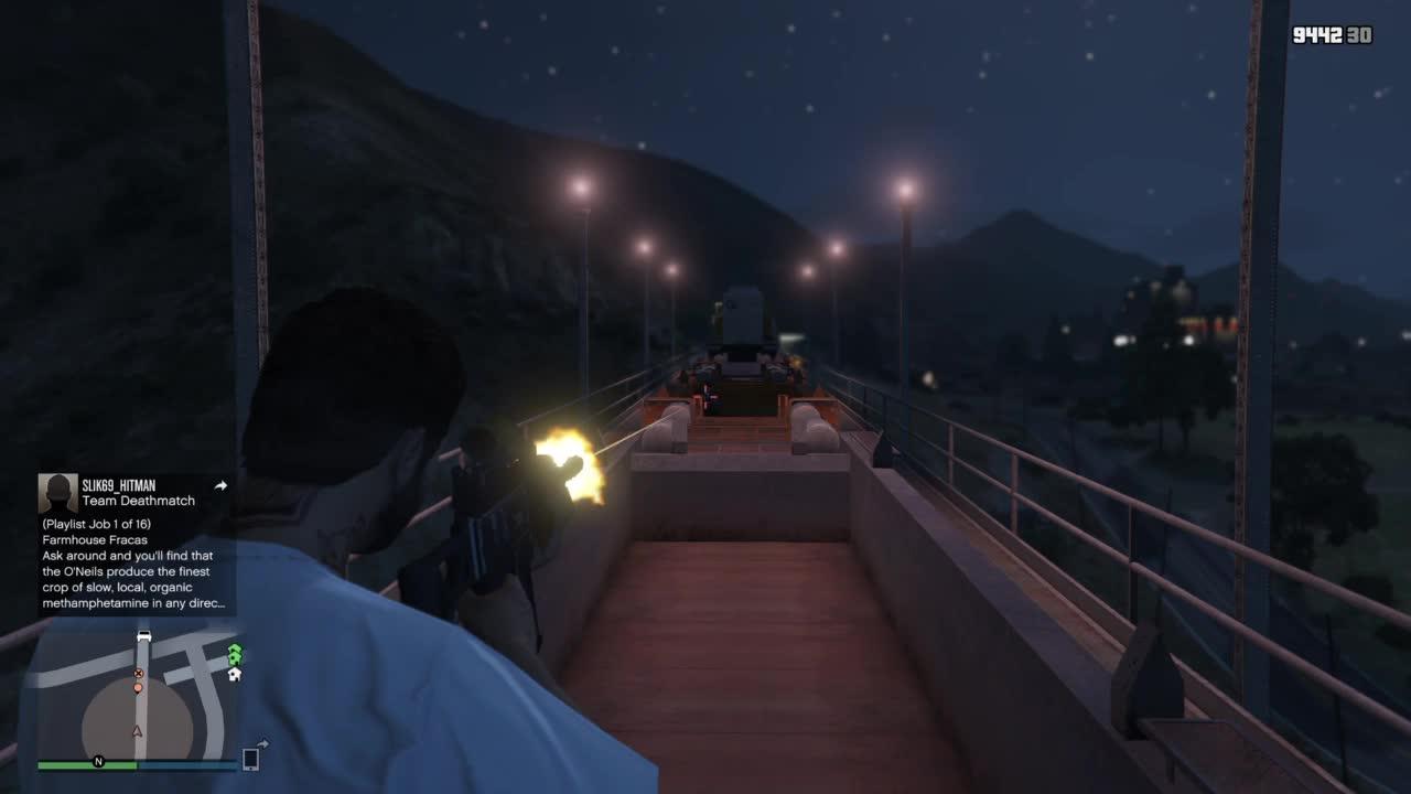GTA5 Jump kills GIFs