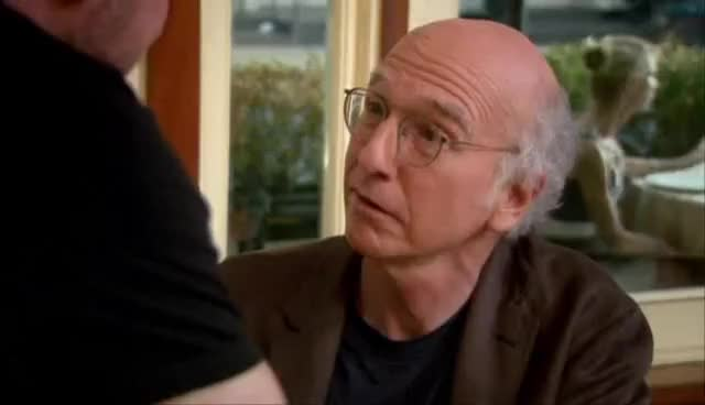 Watch and share Larry David Staredown GIFs on Gfycat